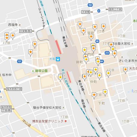 大宮駅ラーメン